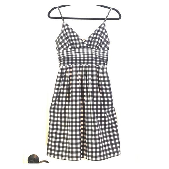 30e788135dc8 Banana Republic Dresses & Skirts - Banana Republic, black and white gingham  sundress.